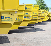 Container Ritter Recycling + Container aus Schutterwald